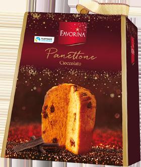 Favorina panettone cioccolato