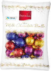 Favorina mini milk chocolate balls