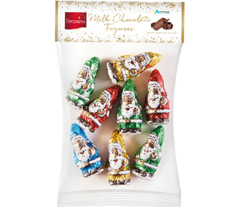 Favorina milk chocolate figures
