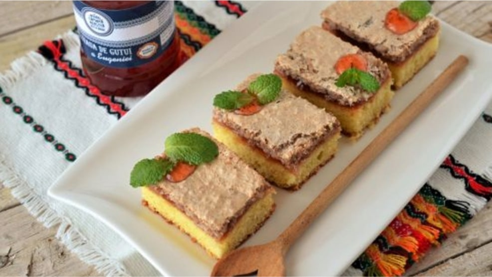 Prăjitură cu peltea de gutui