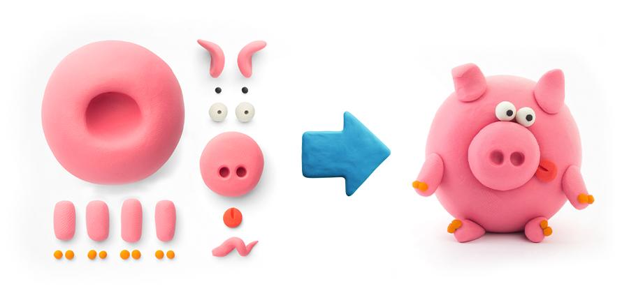 Porc clay app