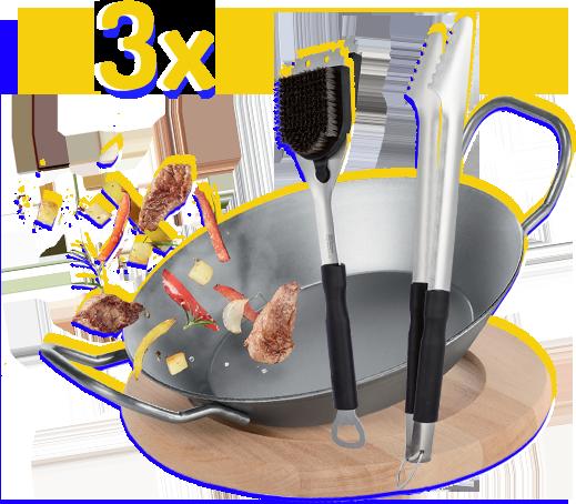 kit accesorii de gătit