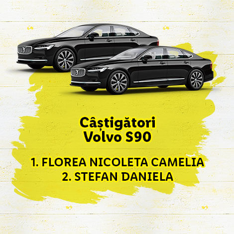 câștigători Volvo S90
