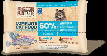 Coshida complete cat food