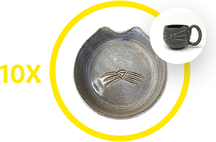 10X boluri ceramice