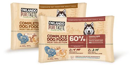 Orlando complete dog food