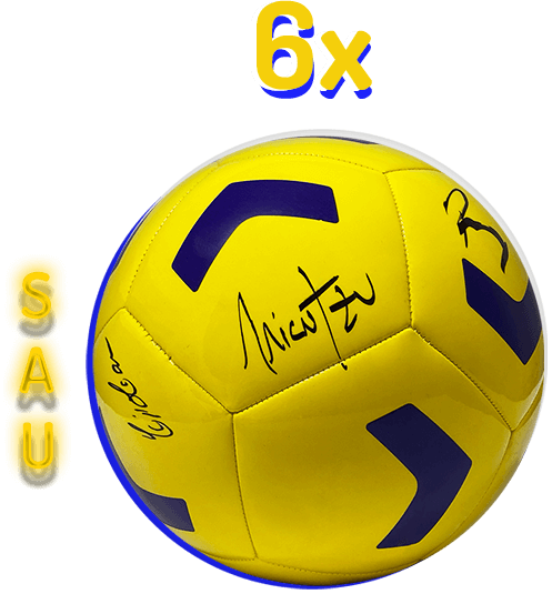 6x mingi de fotbal semnate de Micutzu, Andrei și Ionuț