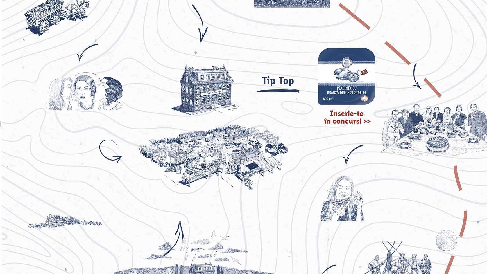 imagine hartă placinte